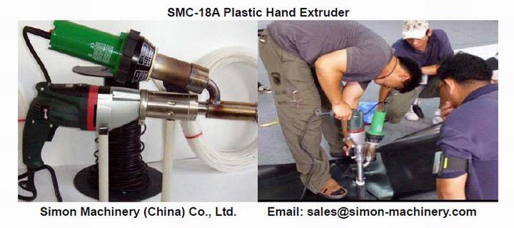 SMC-18A Plastic Hand Extruder