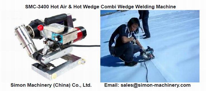 SMC-3400 Hot Air & Hot Wedge Combi Wedge Welding Machine