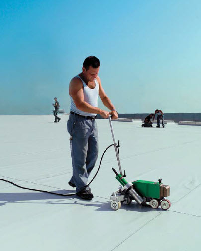 SMC-700 Roofing and Waterproofing Hot Air Welding Machine