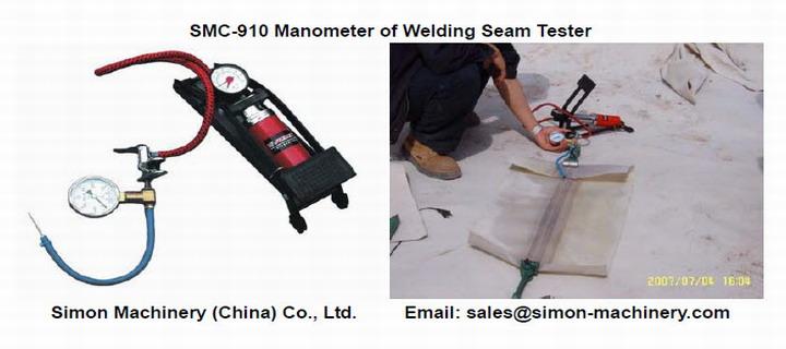 SMC-910 Manometer of Welding Seam Tester